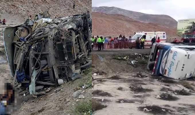 Tragedia en Arequipa: choque de dos buses deja 10 fallecidos y alrededor de 40 heridos