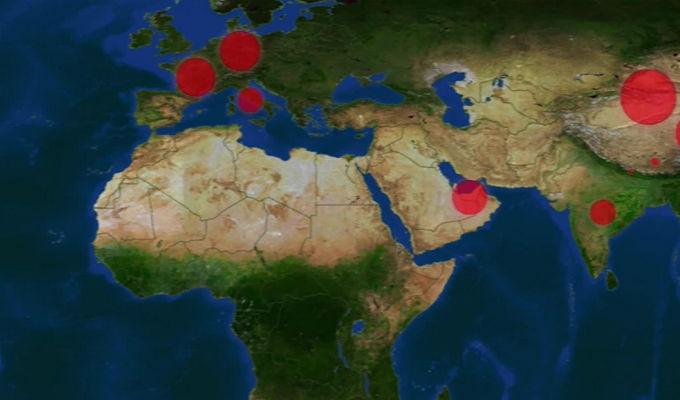 Coronavirus: contagios en resto del mundo superaron a China, advierte la OMS