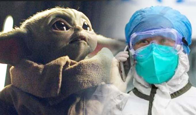 """Coronavirus afecta la producción de juguetes de Baby Yoda de """"Star Wars"""""""