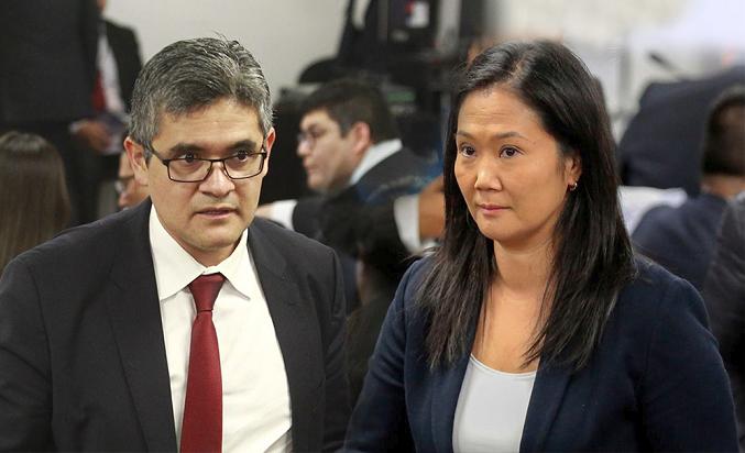PJ evalúa pedido fiscal de suspensión temporal de Fuerza Popular