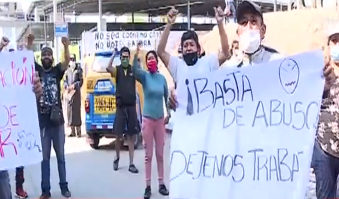 """SJM: 100 de """"Las Flores de Villa"""" fueron asaltados"""