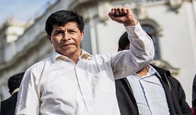 Elecciones 2021: Perú Libre presenta a Pedro Castillo Terrones como precandidato presidencial ...