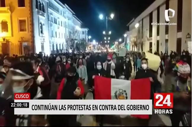 Marcha Nacional: Miles protestaron en el interior del país contra Manuel Merino