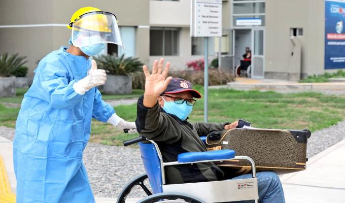 Coronavirus en Perú: 869 165 pacientes han superado la enfermedad