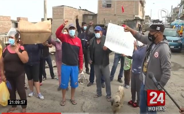 SJM: vecinos de Pamplona Alta denuncian que no pueden vivir tranquilos por delincuencia