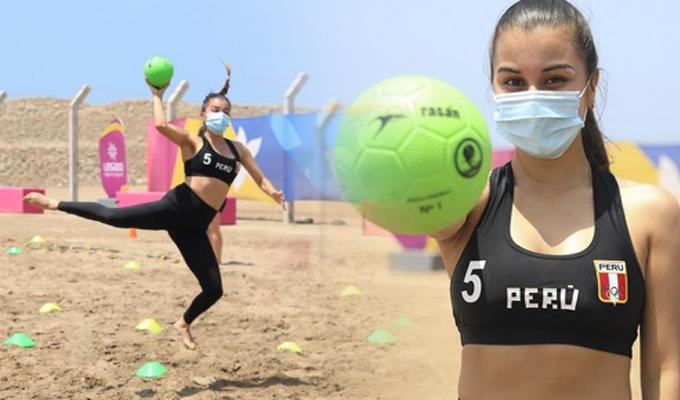 El IPD reactivó entrenamientos de Beach Handball