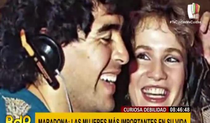 Maradona: las mujeres que marcaron su vida