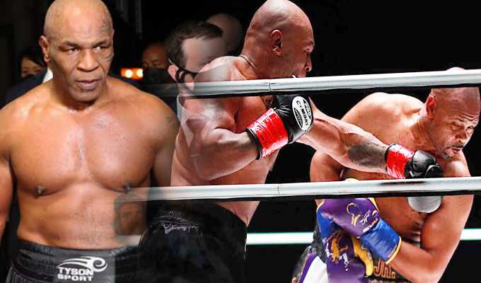 Mike Tyson vuelve al ring luego de 15 años