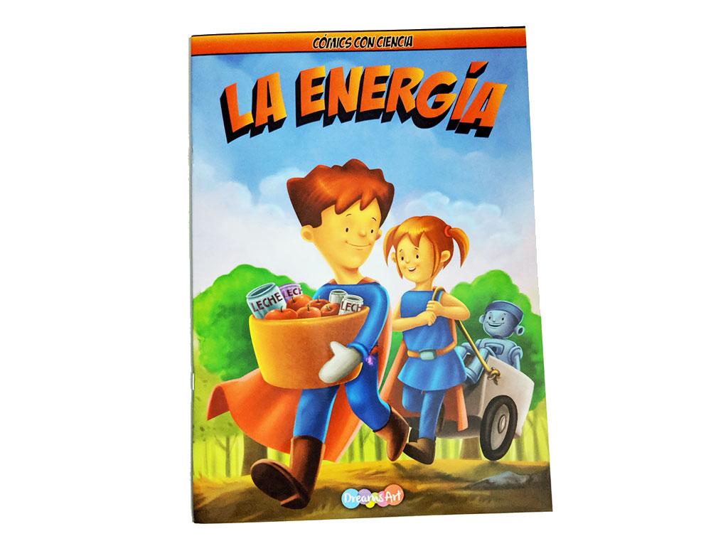 LIBRO COMICS LA ENERGIA BB-MCW1402