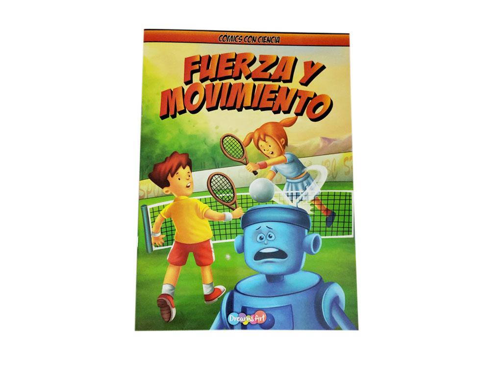 LIBRO COMICS FUERZA Y MOVIMIENTO BB-MCW1402