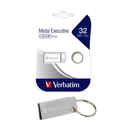 MEMORIA USB 2.0 32GB METALICA PLATA (METAL EXECUTIVE) 98749