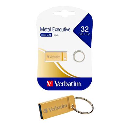MEMORIA USB 3.0 32GB METALICA ORO (METAL EXECUTIVE) 99105