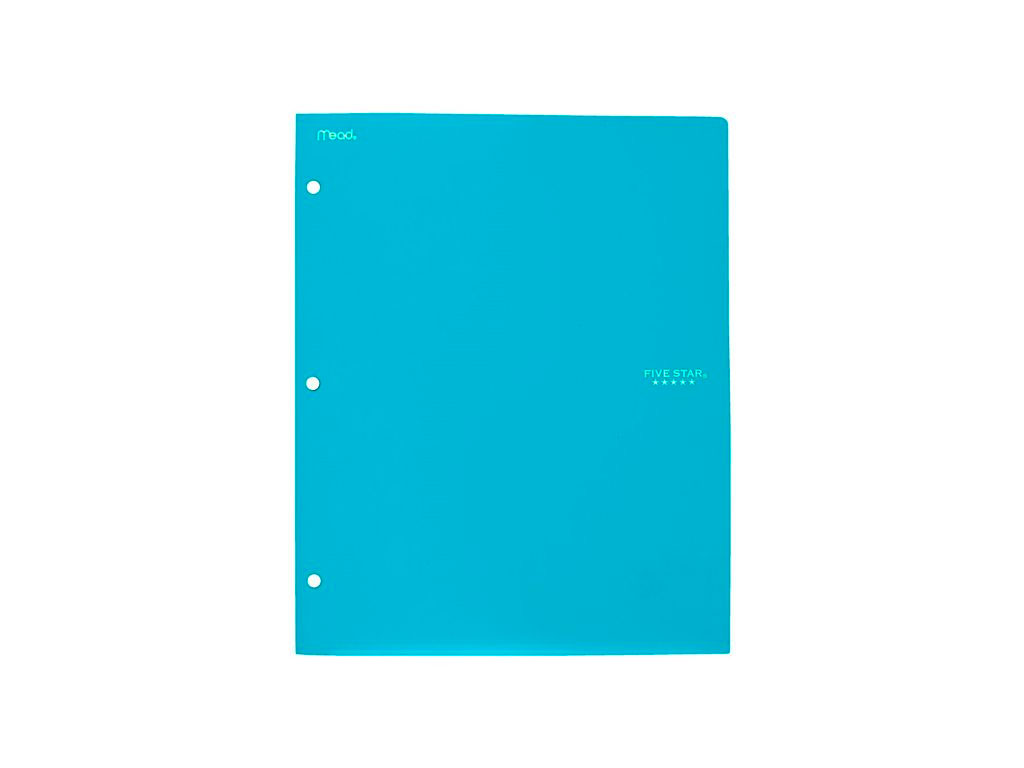 FOLDER C/DEPOSITO COLORES VARIOS FIVE STAR 33106