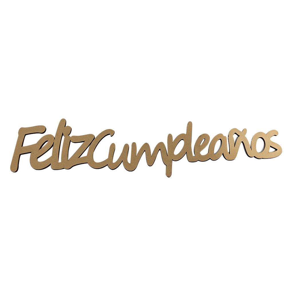 SUPERFICIE LETRERO FELIZ CUMPLEAÑOS
