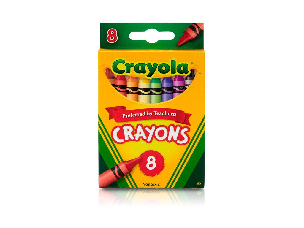 CRAYONES 8 COLORES 52-3008