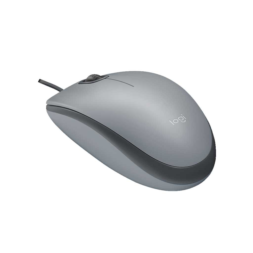 MOUSE USB M110 SILVER