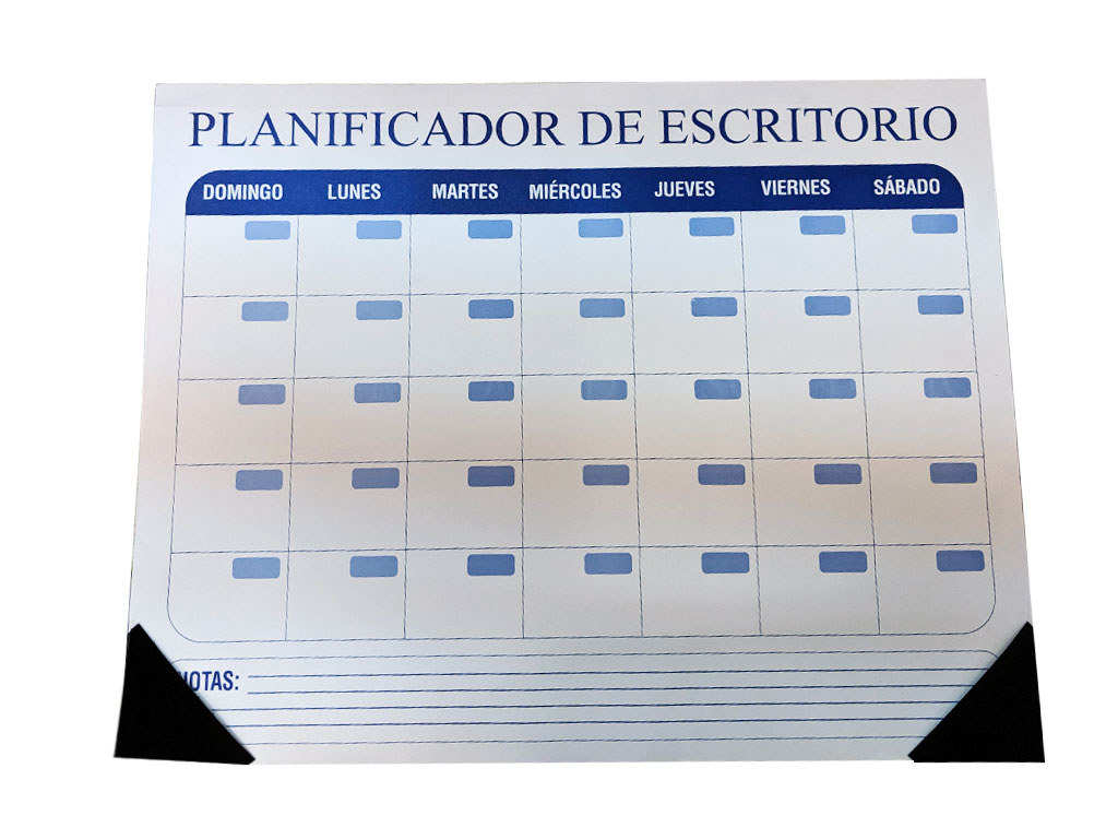 PLANIFICADOR  D/ESCRITORIO 2020
