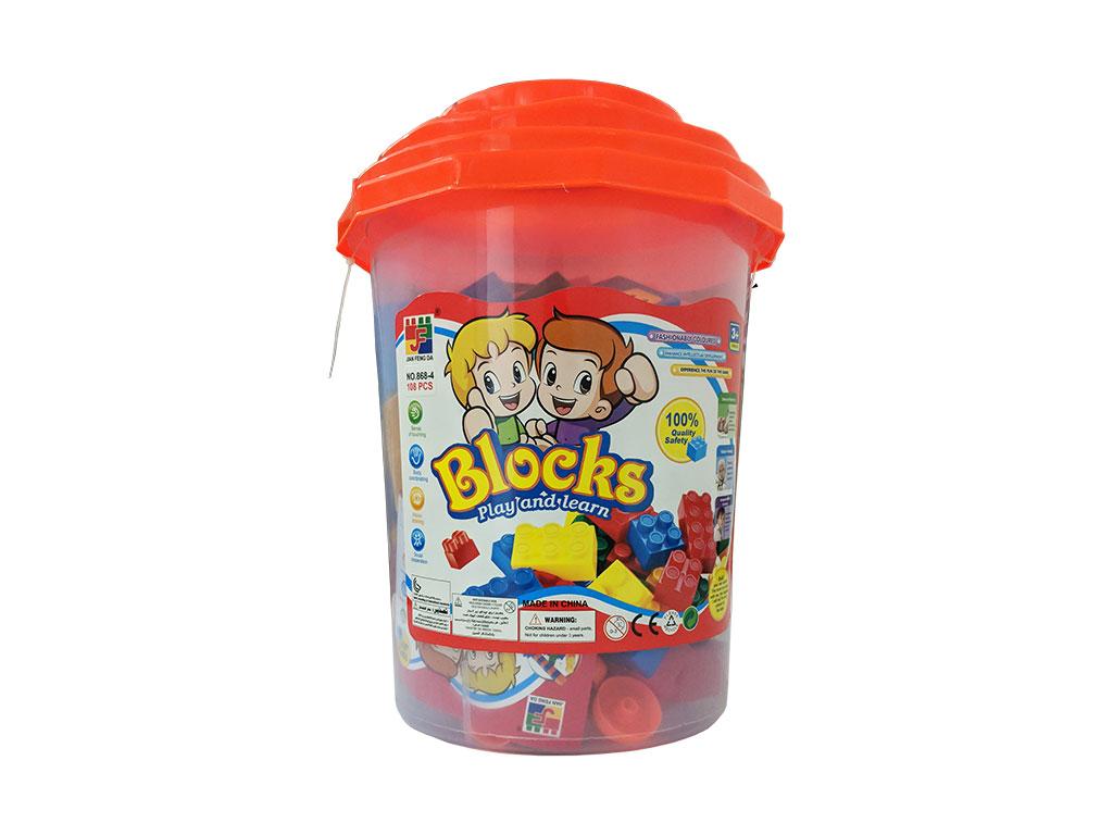 LEGO EN BALDE 108 PCS. T05-0785