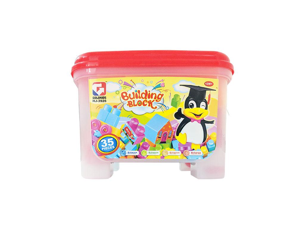 LEGO EN CAJA PLASTICA T05-0638 35 PZS