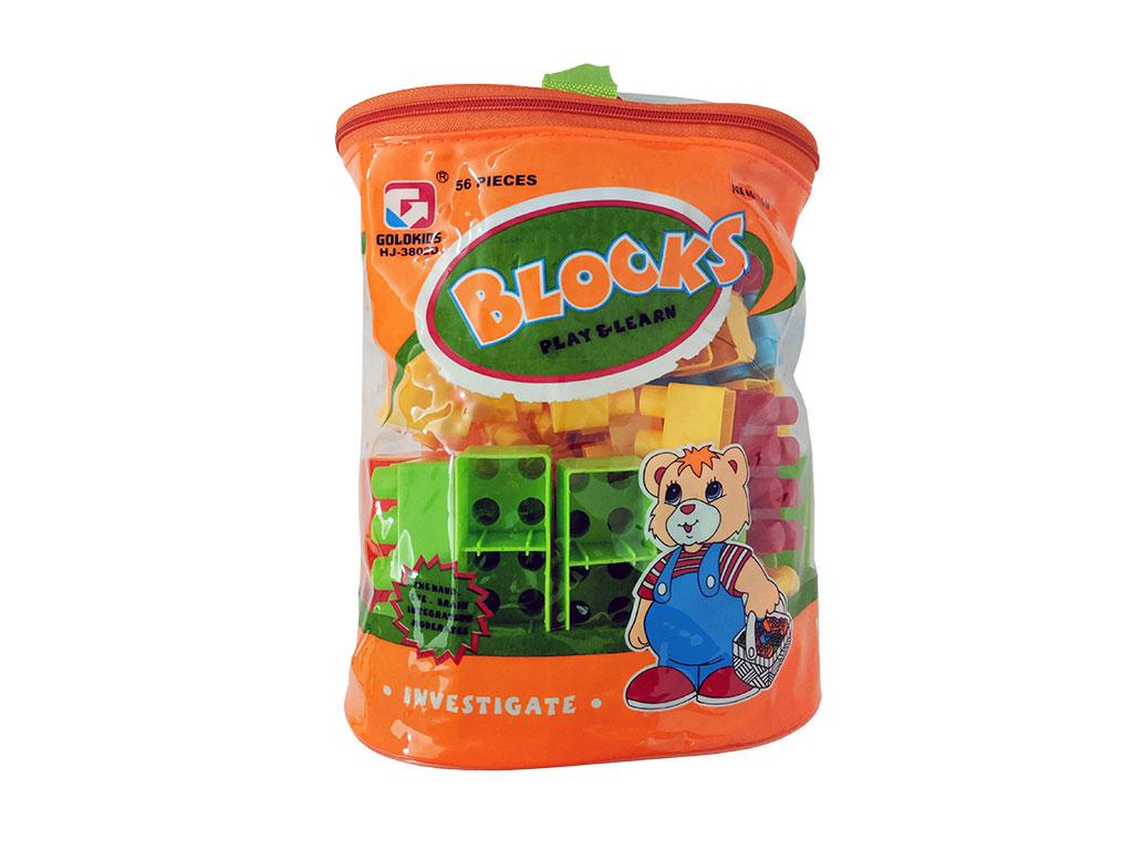 LEGO EN BOLSO 56 PCS 3XE3-3802D