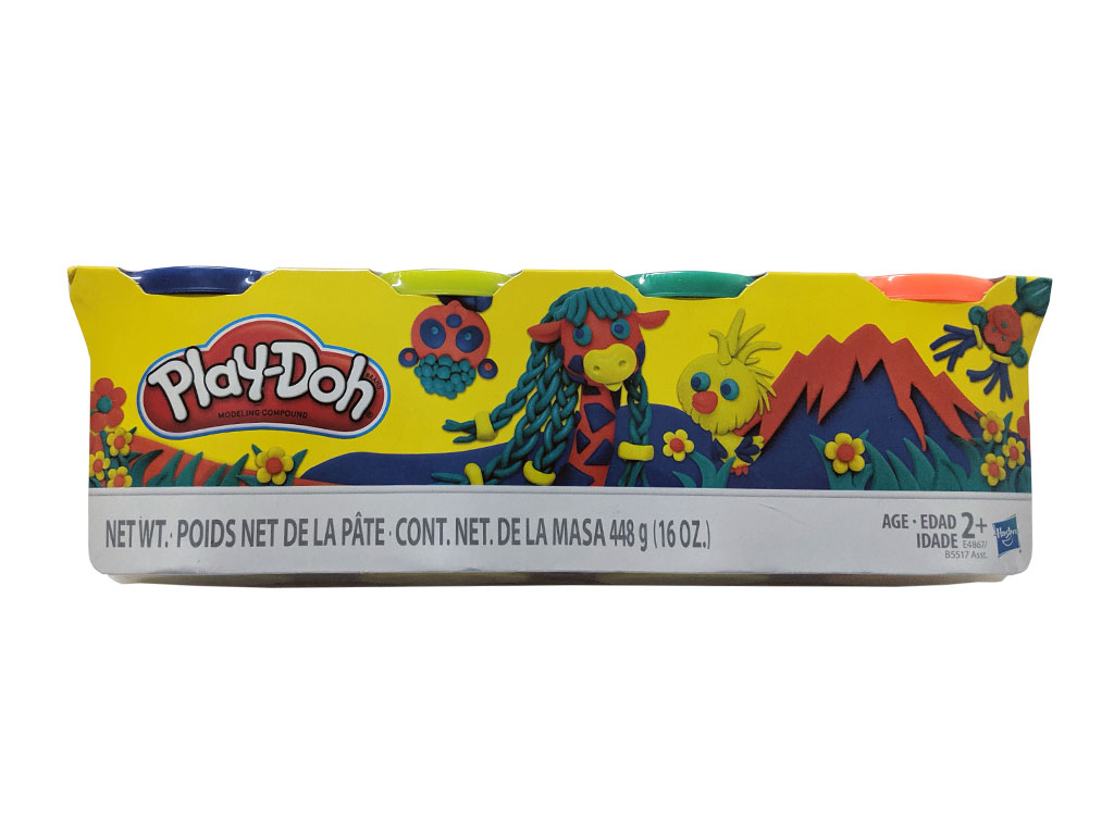 PLAY DOH 4- PACK C-029A 448 GRS