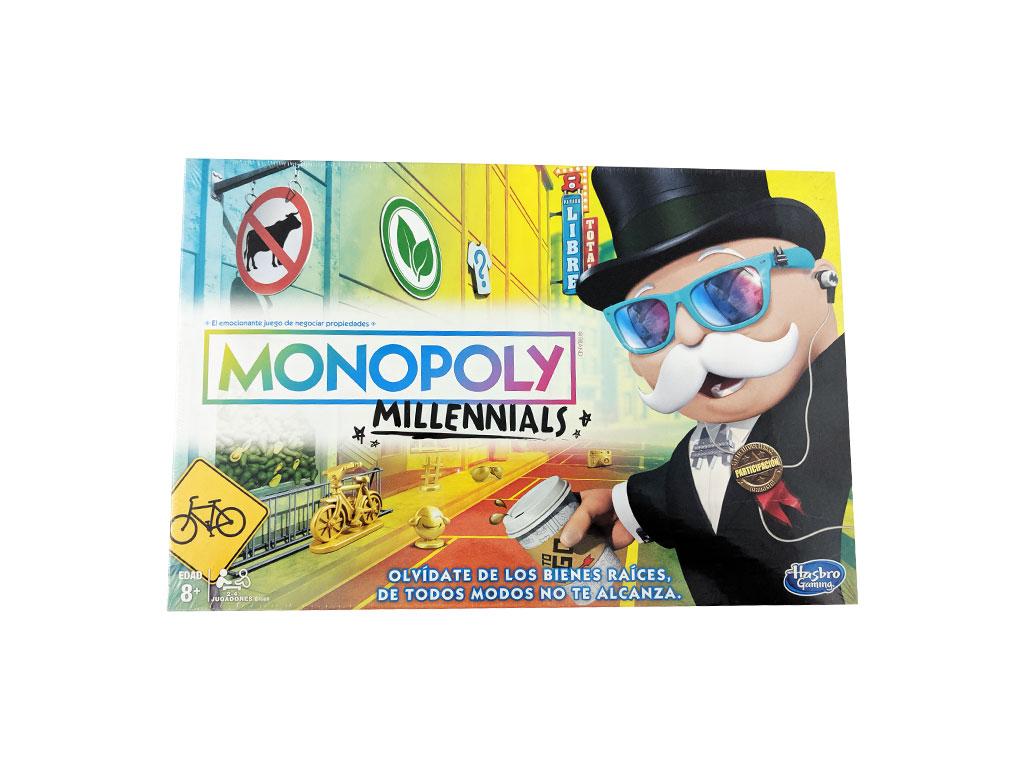 JUEGO MONOPOLIO MILLENNIALS ESPAÑOL