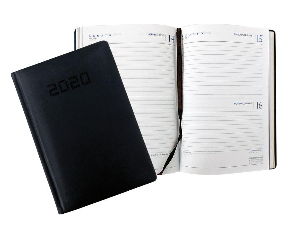 AGENDA 2020 15X21 C/PLATEADO AQ2007