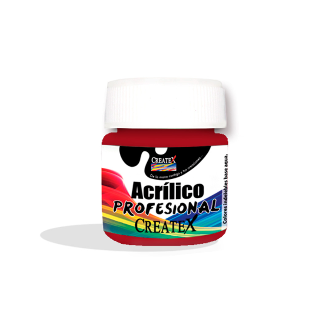 PINTURA ACRILICA 250ML #14 ROJO