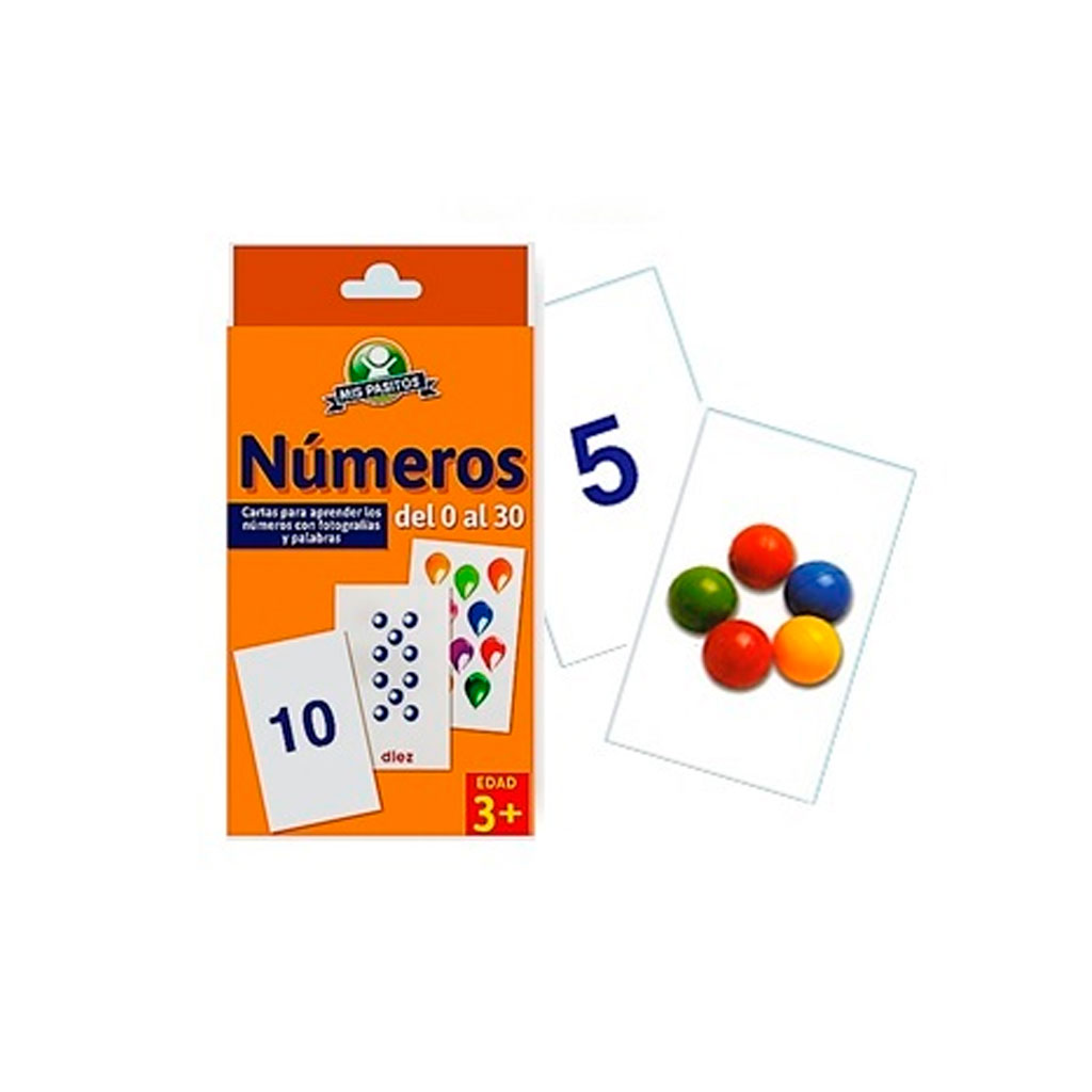 CARTAS EDUCATIVAS NUMEROS