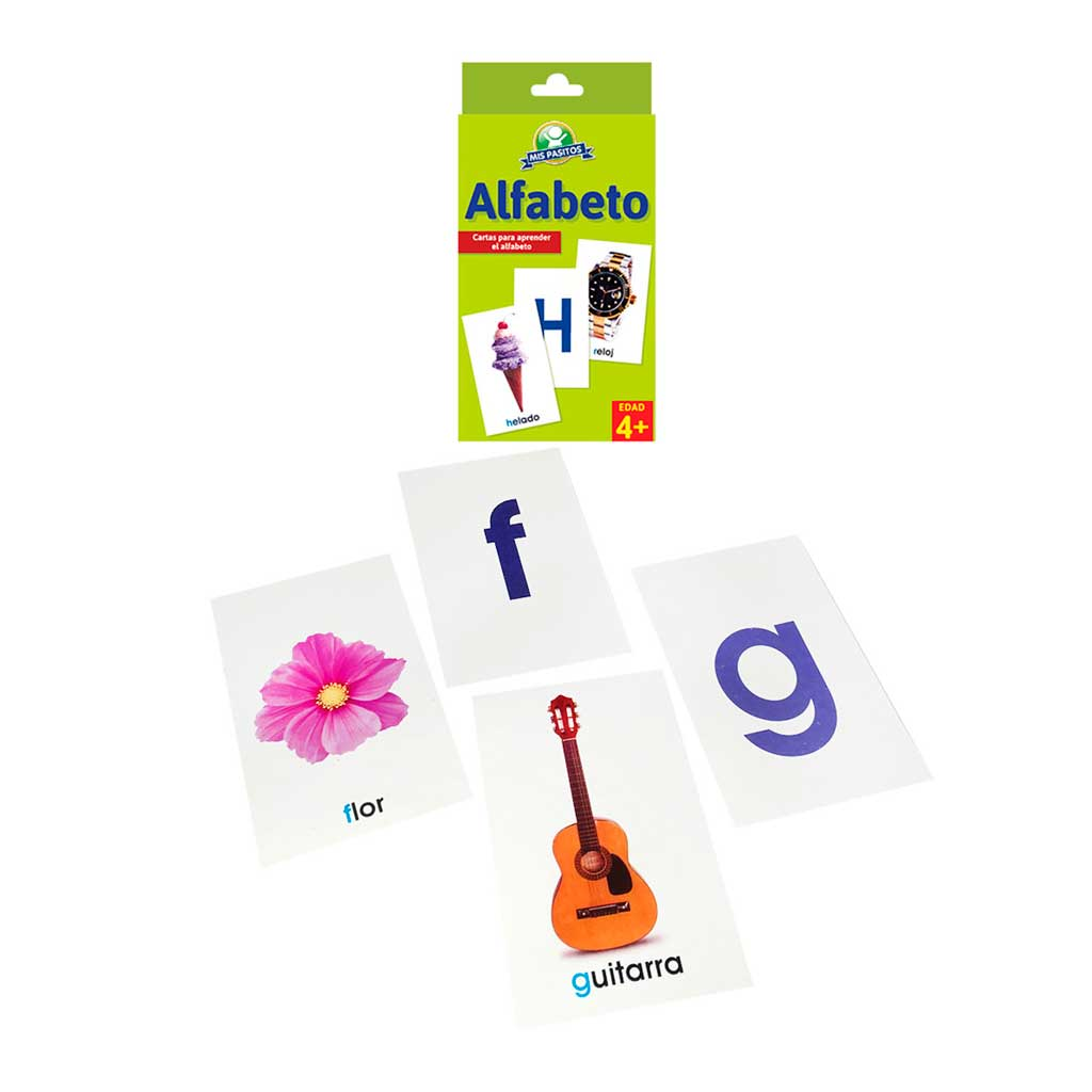 CARTAS EDUCATIVAS EL ALFABETO