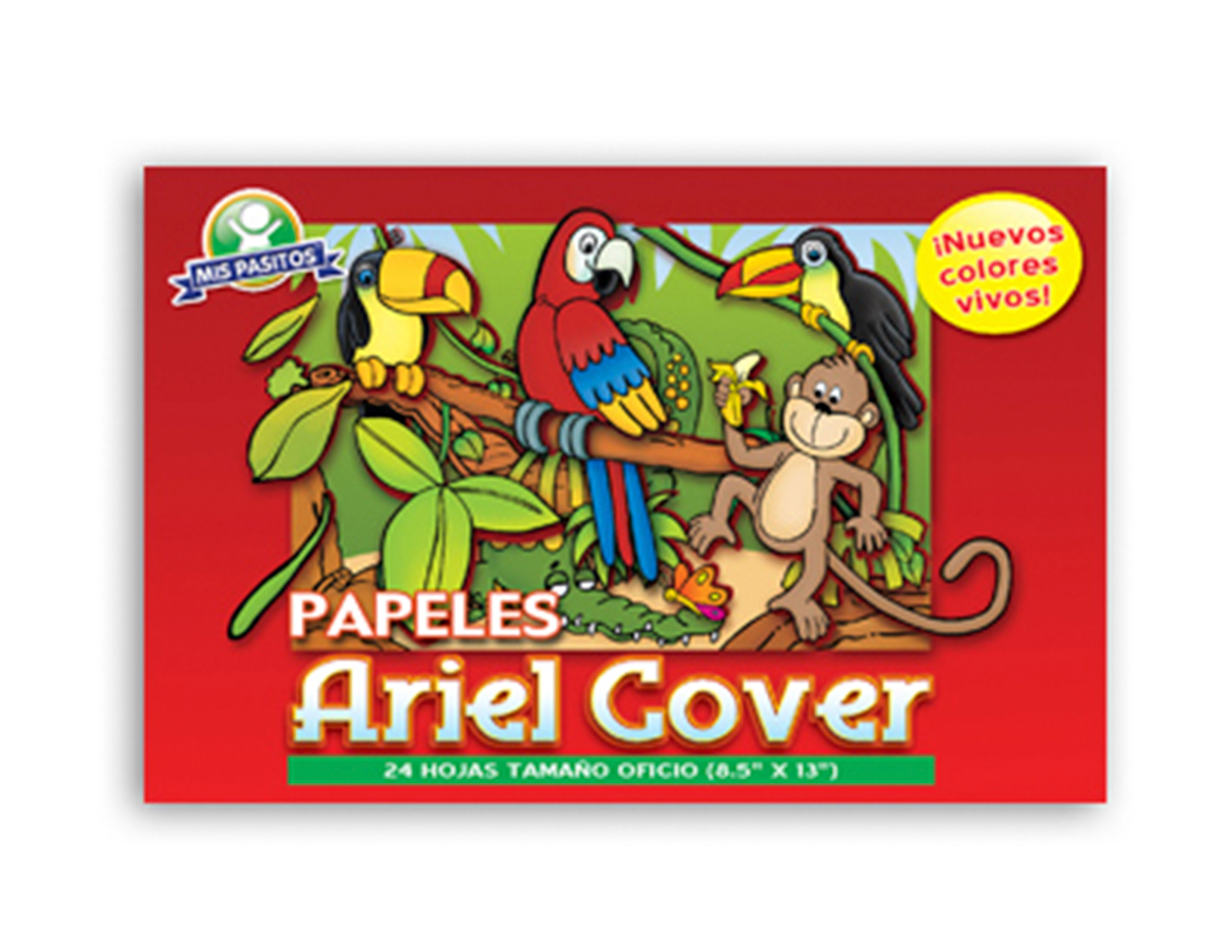 BLOCK PAPEL BOND ARIEL COVER 24H. T/L