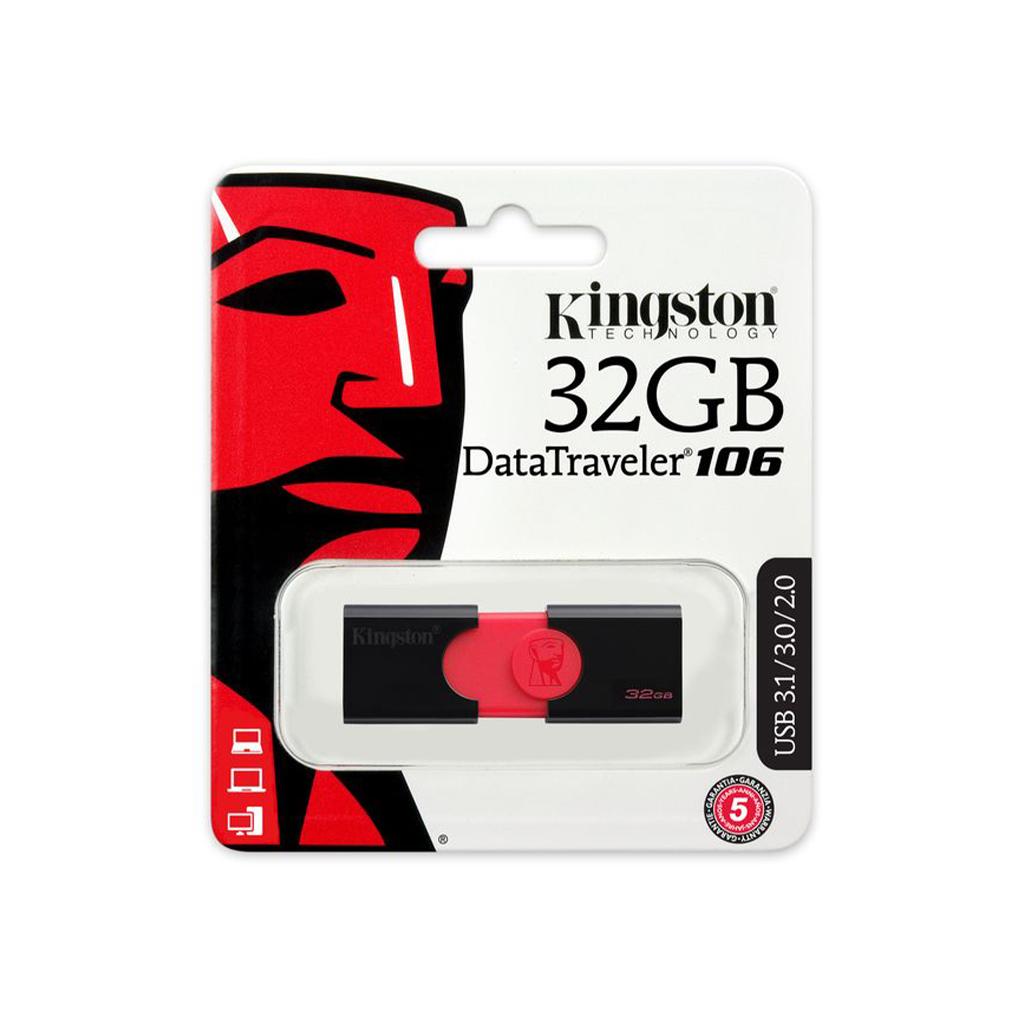 MEMORIA USB 32GB PLASTICA DT106