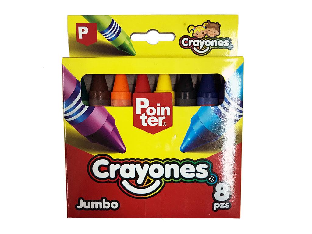CRAYONES 12 COLORES JUMBO CY-JB-12HQ