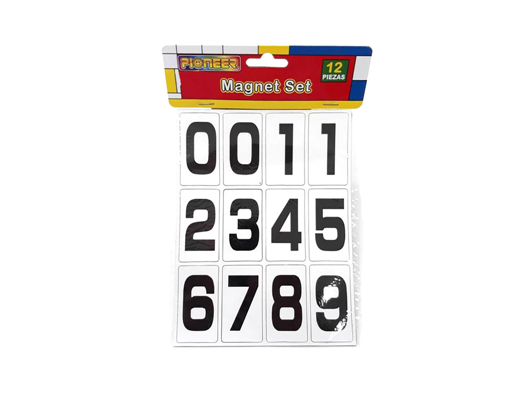 NUMEROS MAGNETICOS MS-1460