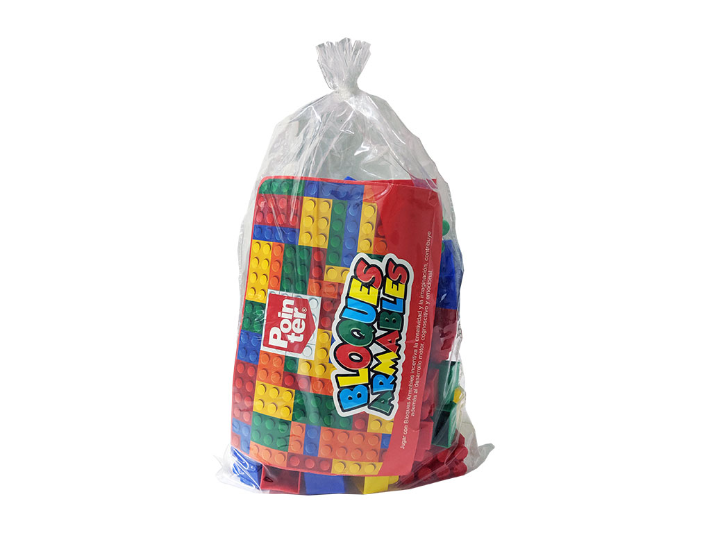LEGO EN BOLSA 48 PCS. REF.0316