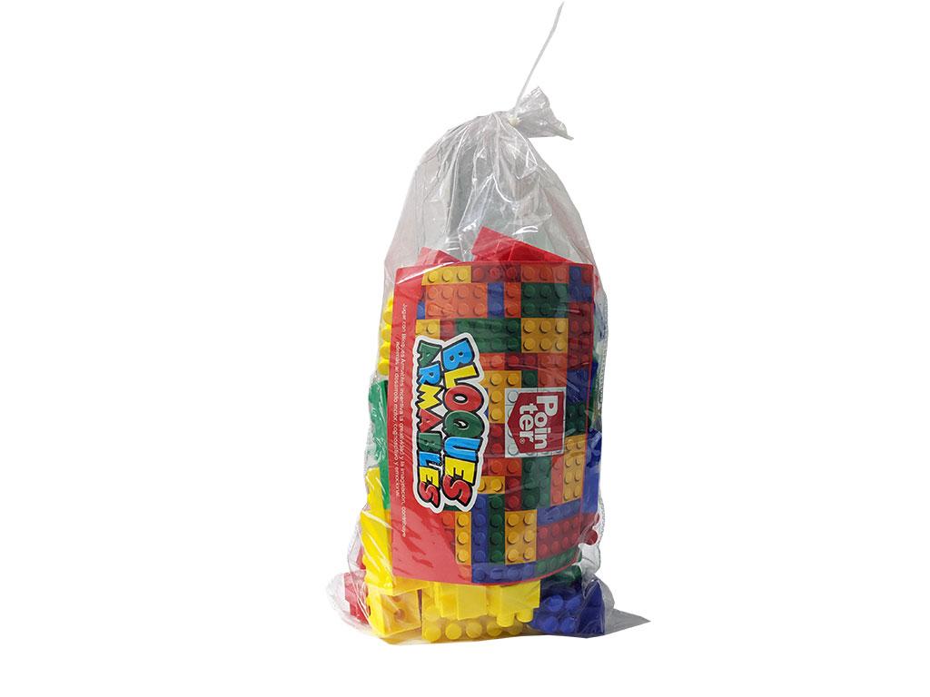 LEGO EN BOLSA 72 PCS. 0309