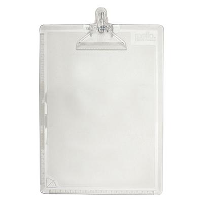 TABLA C/CLAMP PLASTICA T/O DELLOCOLOR TRANSPARENTE
