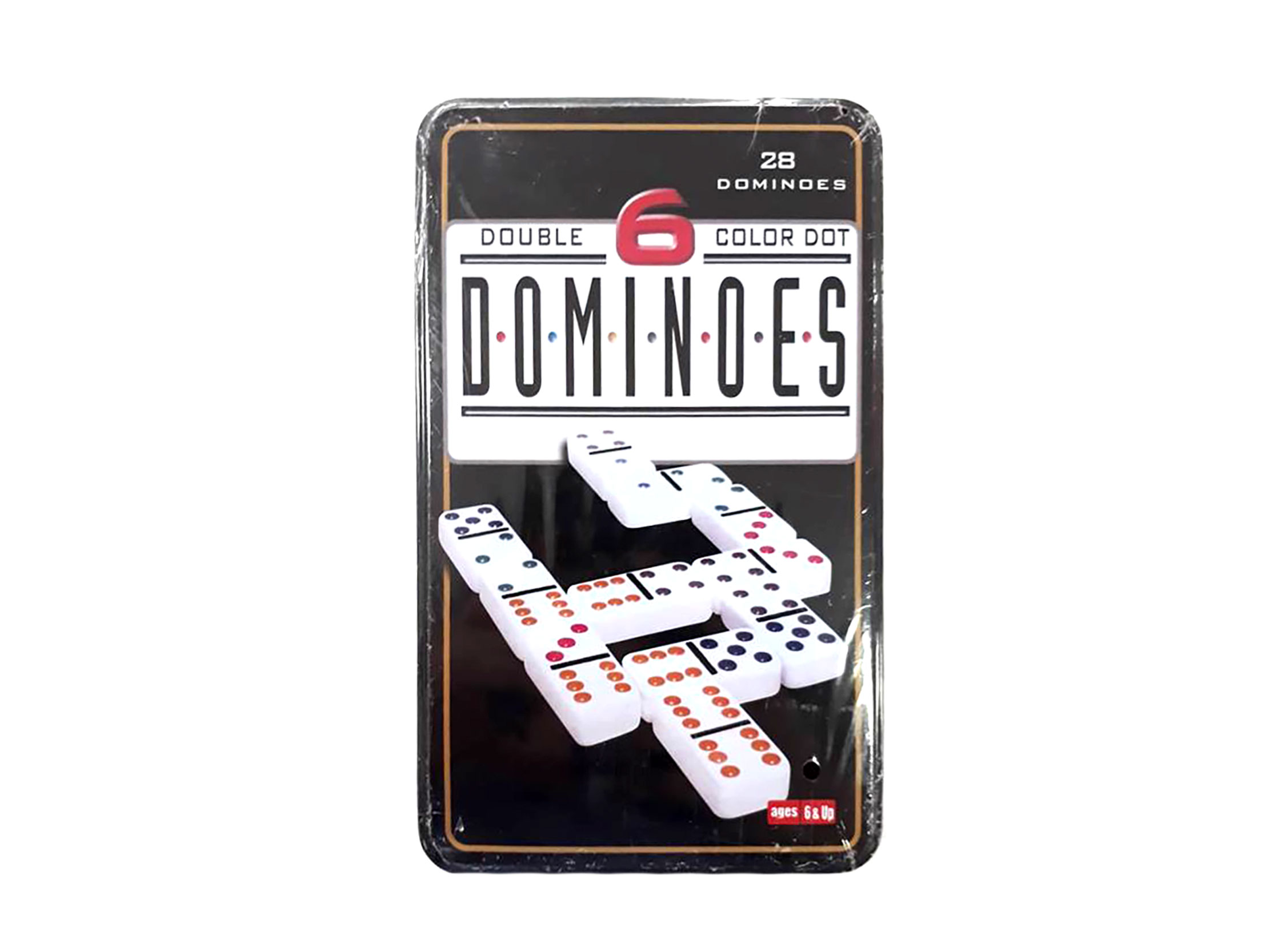 JUEGO DOMINO CAJA METAL 3JG-D6-5210T