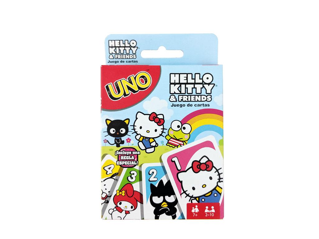 JUEGO DE MESA UNO HELLO KITTY FNC40