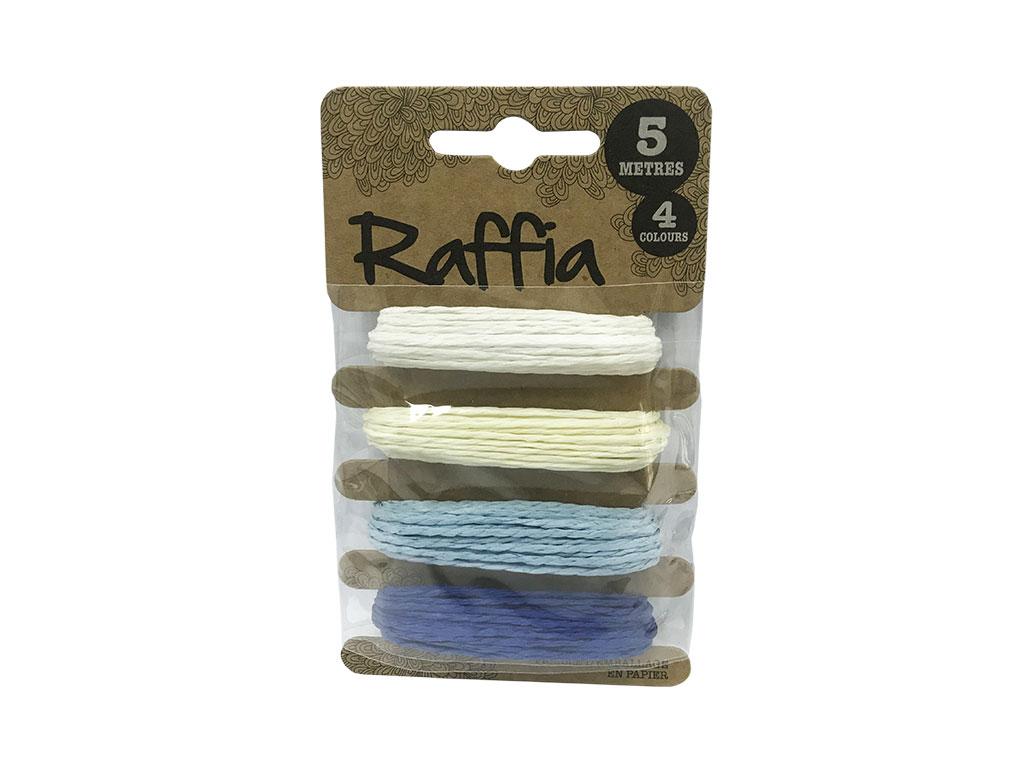 SOGA RAFFIA  COLORES 1/4 SW0130