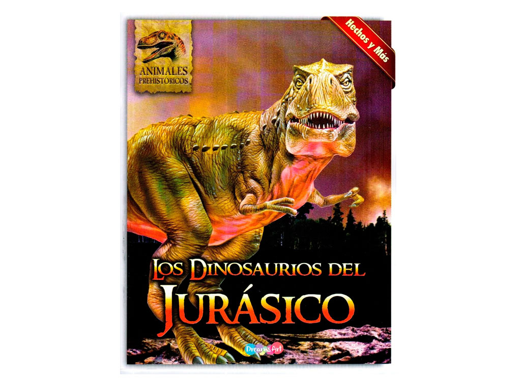 LIBRO LOS DINOSAURIOS DEL JURASICO BI-MCW0166