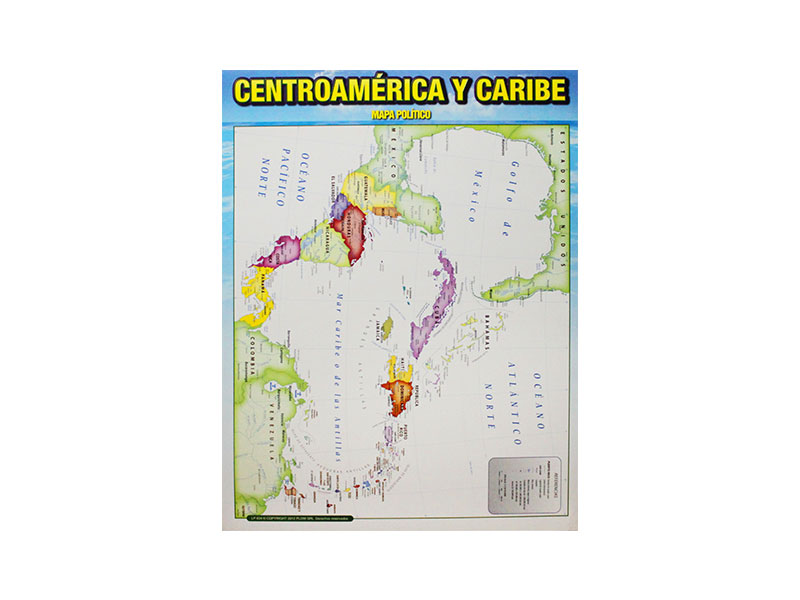 LAMINA CARTON CENTROAMERICA Y CARIBE