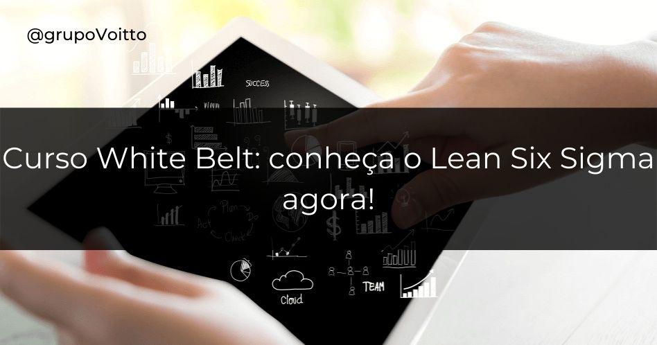Curso White Belt: conheça o Lean Six Sigma agora!