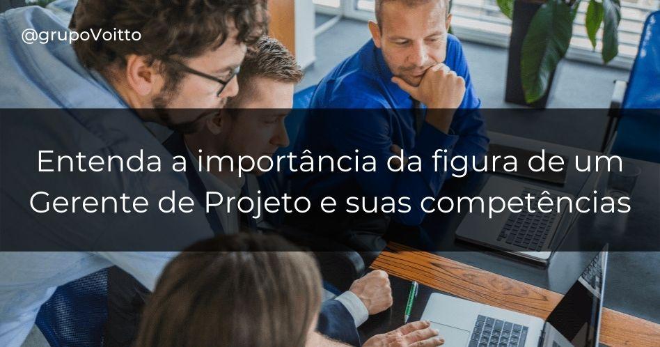 Qual a importância da figura de um gerente de projeto?