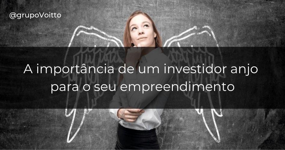 Descubra a importância de um investidor anjo para o seu empreendimento