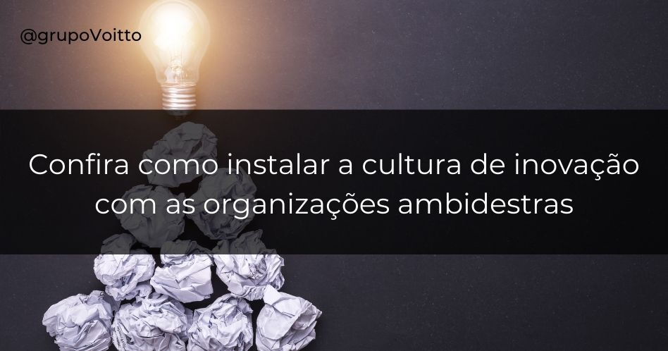 Confira como instalar a cultura de inovação com as organizações ambidestras