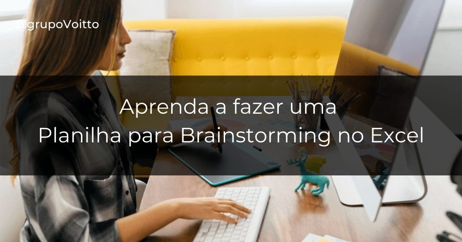 Planilha para Brainstorming: Selecione suas ideias