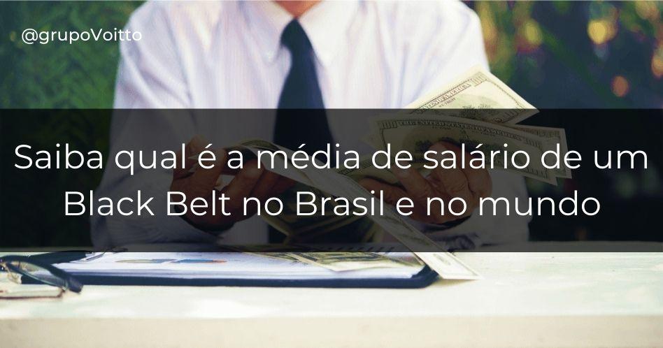 Saiba qual é a média de salário Black Belt no Brasil e no mundo