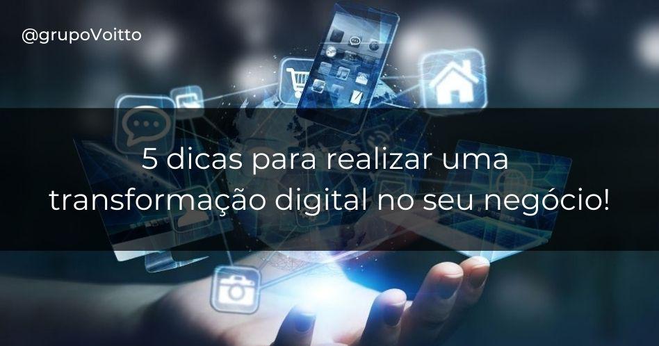 Como realizar uma transformação digital nas empresas?