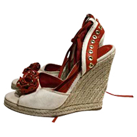 Yves Saint Laurent Size 38 EU Wedge